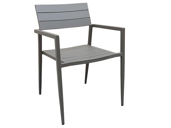 เก้าอี้อลูมิเนียมมีที่ท้าวแขน ALUMINIUM ARMCHAIR