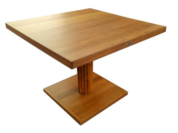 TEAKWOOD / BAMBOO SQUARE TABLE