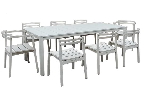 FSC GRANDIS RECTANGULAR TABLE + FSC GRANDIS CHAIR