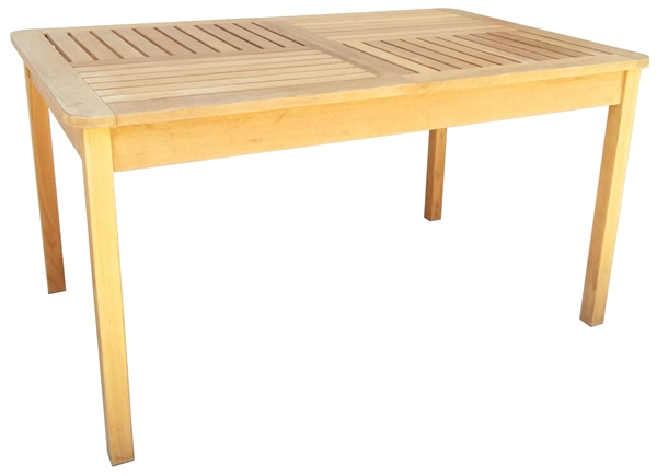 TEAKWOOD RECTANGULAR EXTENSION TABLE
