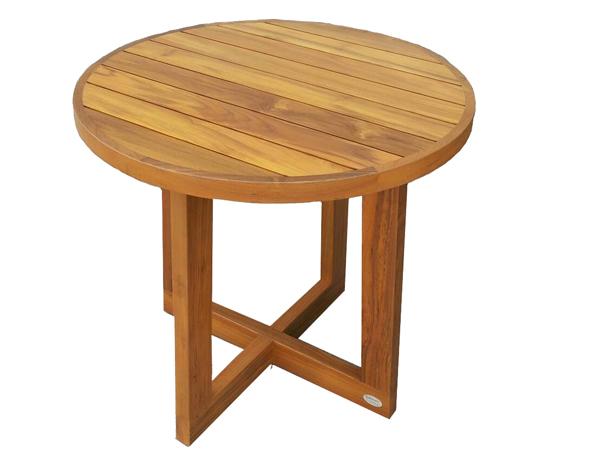 TEAKWOOD ROUND TABLE