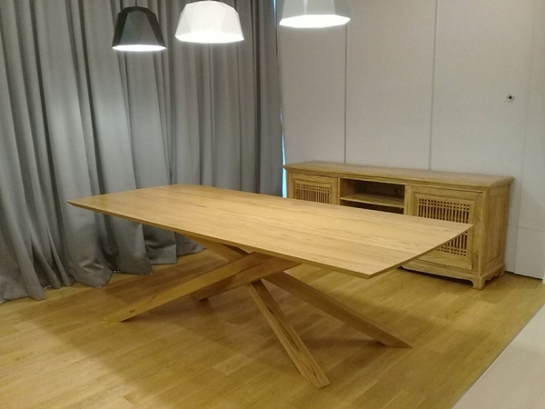 TEAK RECTANGULAR TABLE 2.4 METRES