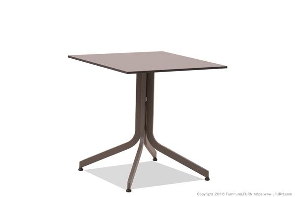 โต๊ะอลูมิเนียมหน้าโต๊ะไฟเบอร์แบบพับได้ FIBER/ALUMINIUM FOLDING TABLE
