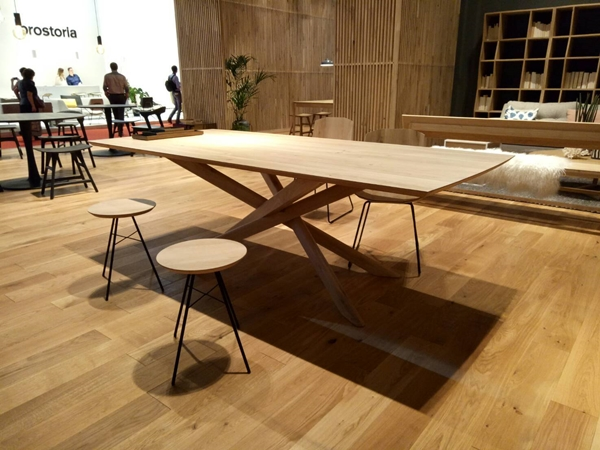 TEAK RECTANGULAR TABLE 2 METRES