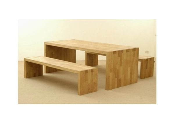 OAK GAVA DINING TABLE