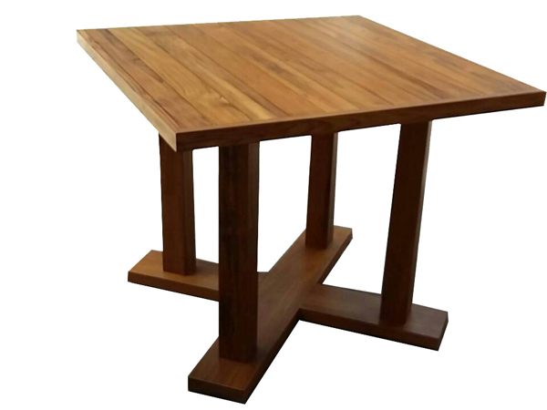TEAKWOOD SQUARE TABLE