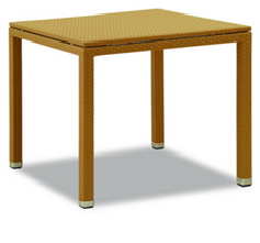 POLYRATTAN SQUARE TABLE