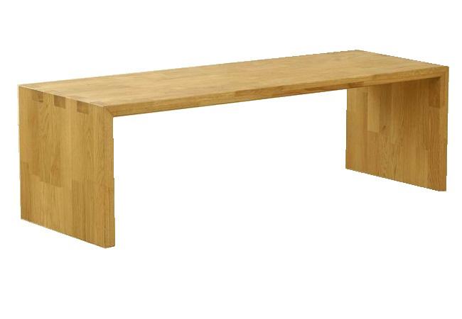 โซฟาแบบม้านั่งทำจากไม้โอ๊ค SOFA TABLE BENCH